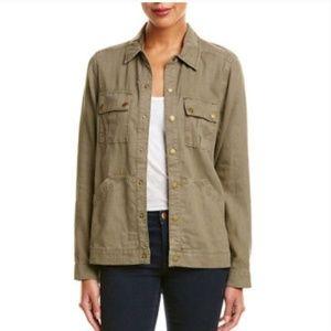 Anthropology military jacket